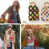 4款钩织衣饰触发的魅力编织 百余海量图大赏色彩编织经典