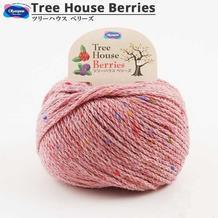 Olympus奥林巴斯Tree House Berries 日本进口羊毛羊驼彩点手编线
