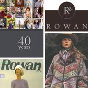 英国顶尖手编毛线品牌Rowan1987年至今69期杂志封面一览