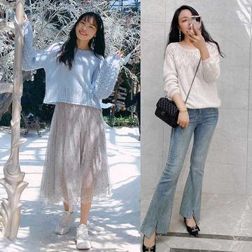 202114期周熱門編織作品:春夏女士兒童編織毛衣16款