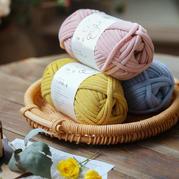【云趣】灌芯棉線粗毛線 手工編織DIY家居包包小物墊子鉤織用線