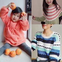 202115期周热门编织作品:手工编织女士儿童春夏服饰10款