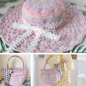 梦幻色优雅法式风帽子与小清新包包(附图解)