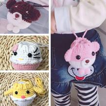 超可爱端午节立夏蛋袋(3-3)小萌鸡和KT猫钩法 奶棉线创意钩针小物编织视频