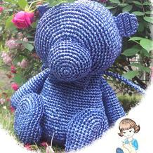 【熊出没!注意!】可爱钩针小熊背包