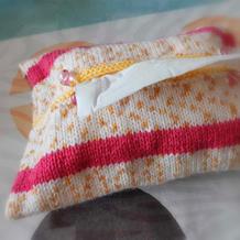 零线的好去处 创意毛线编织纸巾盒