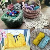 202117期周热门编织作品:钩织毛衣家居饰品等编织服饰10款