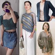 202118期周熱門編織作品:夏季手工編織服飾16款