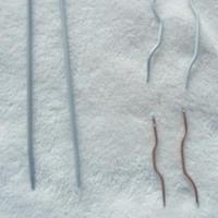 环针改造织麻花的辅助针 编织辅助工具DIY