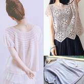 202119期周热门编织作品:手工夏季编织服饰12款
