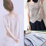 202119期周熱門編織作品:手工夏季編織服飾12款
