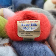 LANAS STOP Baby Silk Mohair真絲幼馬海 西班牙進口真絲馬海毛細毛線
