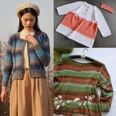 202120期周熱門編織作品:手工編織春夏服飾14款