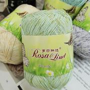 羅莎琳達RL5021絲語 亮絲棉春夏手工編織蕾絲鉤織細線