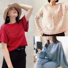 202121期周热门编织作品:手工编织春夏服饰15款