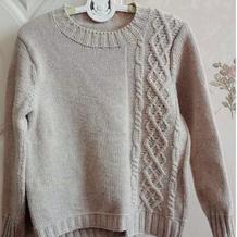 弘逸 130码男童棒针羊绒毛衣