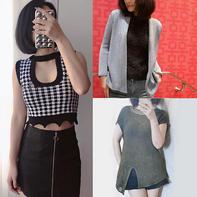 202122期周热门编织作品:手工编织女士儿童春夏服饰10款