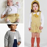 传统手工的现代演绎 简约时尚手工编织品牌童衣款式(2-2)