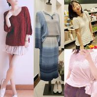 202123期周热门编织作品:15款春夏女士儿童编织服饰
