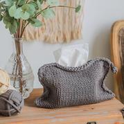 云趣棒針紙巾袋(3-2)北歐風家居編織視頻教程