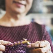 独乐乐不如众乐乐 人到中年对编织重新燃起更浓厚的兴趣