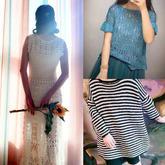 202124期周热门编织作品:16款春夏女士儿童编织服饰