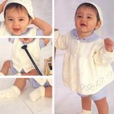 手工188BET金宝搏可爱宝宝棒针四件套188BET金宝搏图解(开衫、马甲、帽子与袜子)