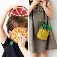 夏日果味钩针水果主题包包编织图解