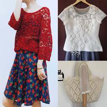 202125期周热门编织作品:女士春夏编织服饰12款