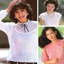 经过数十年,这些毛衣依然历久弥新(82年编织杂志款)