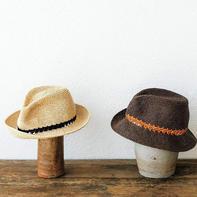 美洲西部风格经典帅气男士钩针牛仔帽
