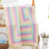 幻彩童年毯子 毛線編織DIY毯子家居飾品編視頻教程