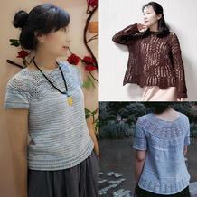 202127期周热门编织作品:女士春夏编织服饰12款