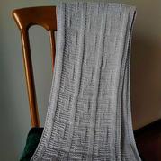 仿芬迪围巾 粗针粗线棒针围巾编织教程(含围巾不卷边技巧)