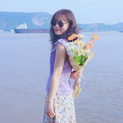 紫薇花开 云帛2女士钩针小飞袖甜美夏日套衫