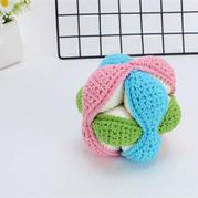 益智玩具球(2-2)鉤針寶寶玩具編織視頻教程