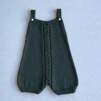 宽松休闲容易穿搭的萌宝棒针背带裤