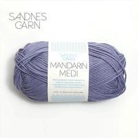 MANDARIN MEDI棉线 挪威SANDNES GARN进口线手编毛衣围巾外套毛线