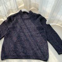 基本款男士棒针多彩羊绒衫(附编织过程)