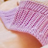 機織雙層折邊花樣螺紋門襟的編織方法
