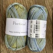 KA Poetical长段染长绒棉 钩针棒针手工编织纯棉线