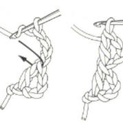 漁網針起針法圖例教程 鉤針編織起針技巧