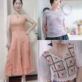 202133期周熱門編織作品:夏末秋初手工編織服飾9款