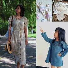 202134期周热门编织作品:各类手工编织服饰17款