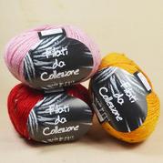 意大利Filati满天星彩点羊毛 手编中粗羊毛线外套开衫围巾线