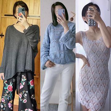 202136期周熱門編織作品:9月中旬手工編織服飾作品15款