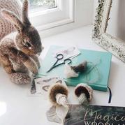 用毛线将自然生灵转化为令人愉悦的针织物 英188BET金宝搏设计师作品欣赏