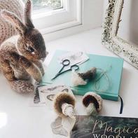 用毛线将自然生灵转化为令人愉悦的针织物 英编织设计师作品欣赏
