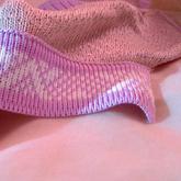 兄弟機編織雙層折面單面提花門襟機織步驟
