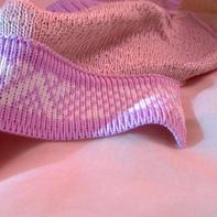 兄弟机编织双层折面单面提花门襟机织步骤